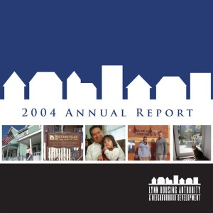 Lynn Housing Authority & Neighborhood Development, Annual Report 2004
