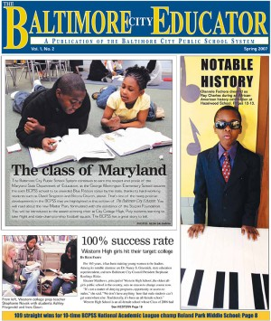 The Baltimore Educator, Spring 2007