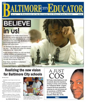 The Baltimore City Educator, Fall 2006