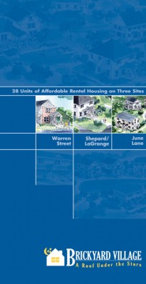 Brickyard Village Brochure, LHAND