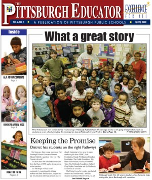 The Pittsburgh Educator, Spring 2009