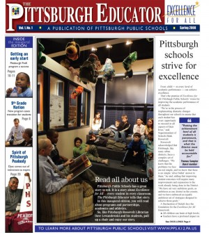 The Pittsburgh Educator, Spring 2008