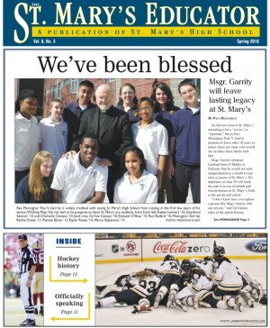 st. marys educator_spring 2010.qxp