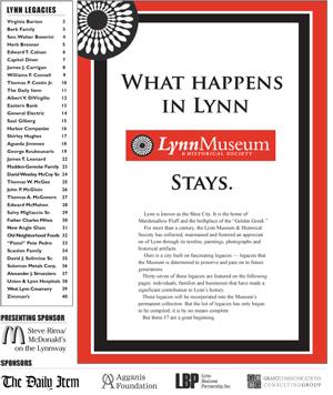 Lynn Legacies Volume I, May 2010
