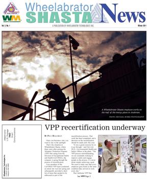 Wheelabrator Shasta, Winter 2011