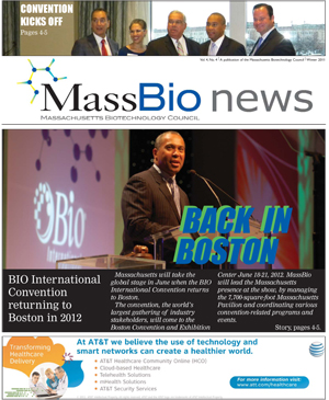 MassBio News, Winter 2011