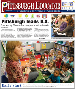 The Pittsburgh Educator, Spring 2010