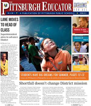 The Pittsburgh Educator, Spring 2011