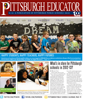 The Pittsburgh Educator, Spring 2012