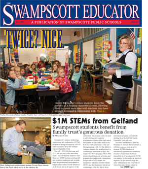 The Swampscott Educator, Fall 2011