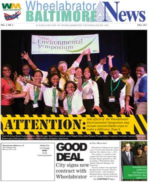 Wheelabrator Baltimore News, Fall 2011