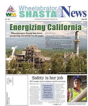 Wheelabrator Shasta News, Summer 2009