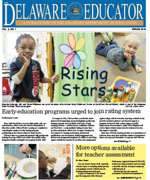 The Delaware Educator, Spring 2013
