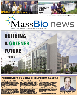 MassBio News, Summer 2014