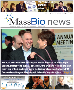 MassBio News, Winter 2013