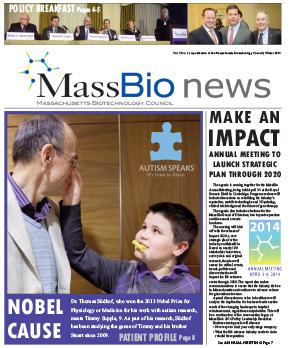 MassBio News, Winter 2014