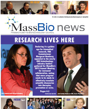 MassBio News, Spring 2013