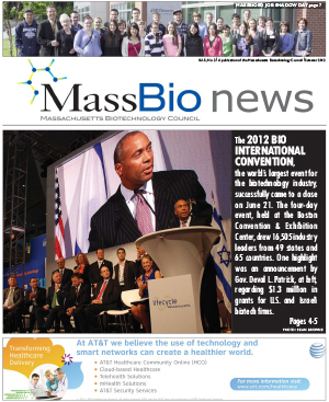 MassBio News, Summer 2012