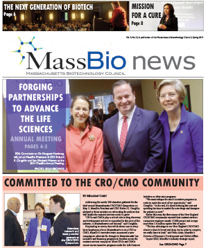 MassBio News, Spring 2014