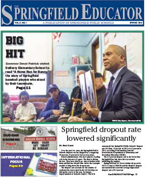 The Springfield Educator, Spring 2013