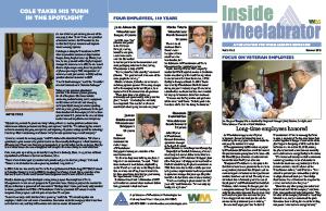 Inside Wheelabrator, Summer 2012